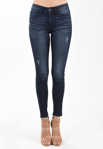 Dark Wash Denim Skinny Jean