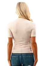 Load image into Gallery viewer, Savanna Mock Neck Top