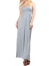 Load image into Gallery viewer, Stephanie Strapless Maxi Dress