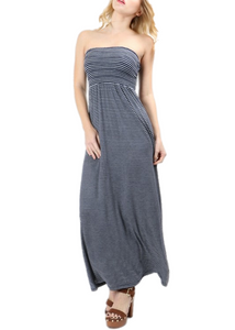Stephanie Strapless Maxi Dress