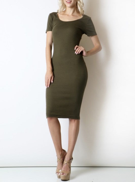 Jenny Scoop Neck Dress