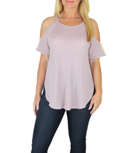 The Lily Cold Shoulder Top