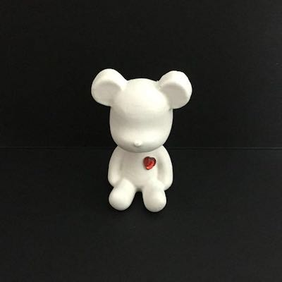 Bear Scented Clay Ornament