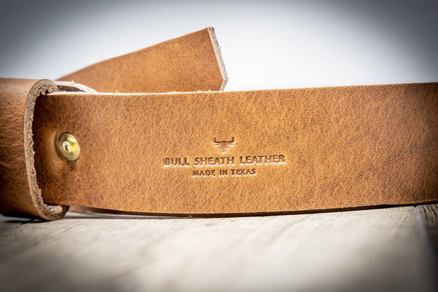Mens Handmade Leather Belt