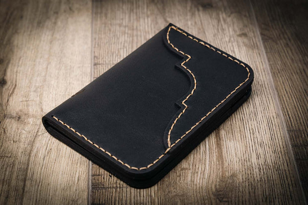 Black Western Leather Wallet