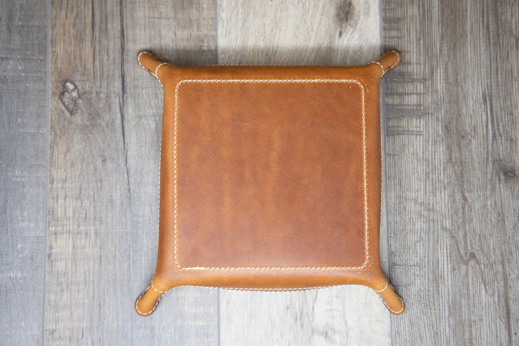 Valet Tray - Medium Brown
