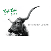 Bull Sheath Leather Gift Card