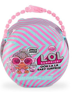 L.O.L. Surprise! Ooh La La Baby Surprise Lil Kitty Queen with Purse & Makeup Surprises