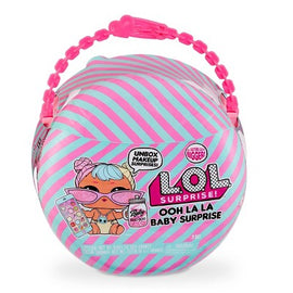 L.O.L. Surprise! Ooh La La Baby Surprise Lil Bon Bon with Purse & Makeup Surprises