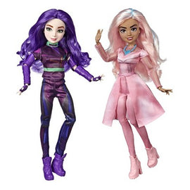 Disney Descendants Good and Evil Set Mal and Audrey Dolls, Inspired by Disney's Descendants 3