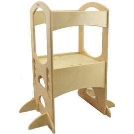 Little Partners Learning Tower Step Stool - Natural