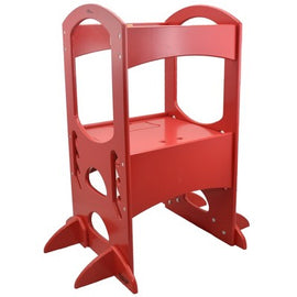 Little Partners Learning Tower Step Stool - Red