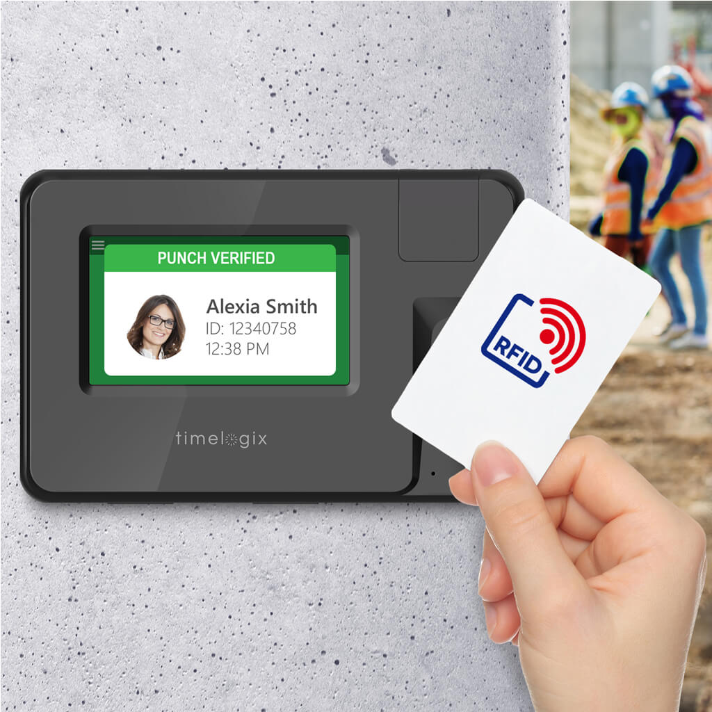 Timelogix TL50 Smart Card RFID Time Clock