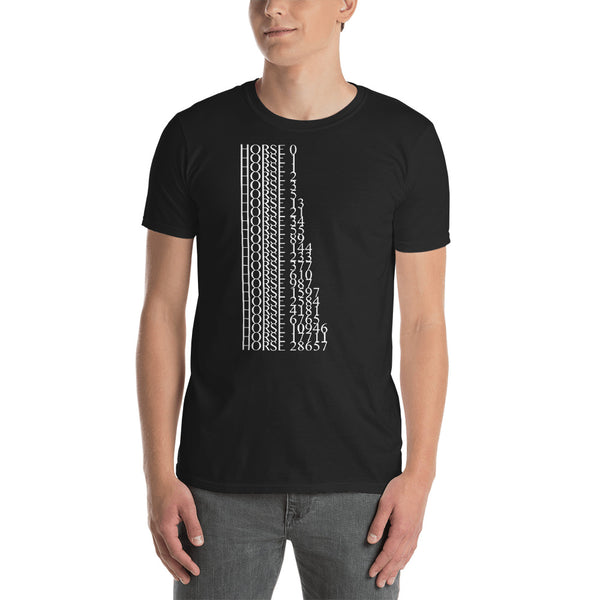 All the Horses Minus Eight - Fashion Tee Shirt