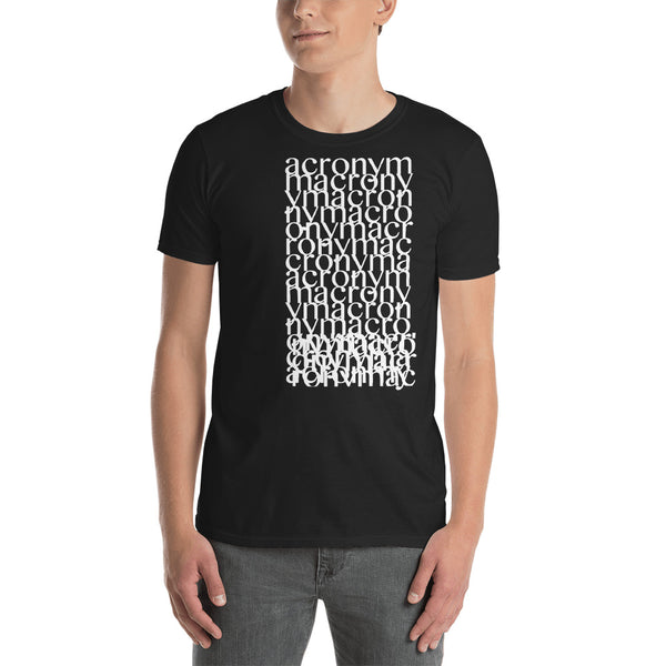 Acronym - Fashion Tee Shirt