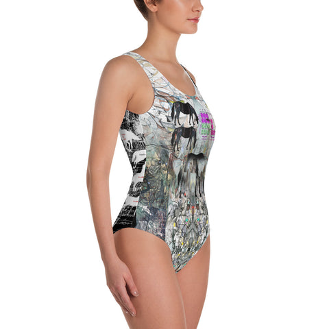 Horse Trainer - One-Piece Swimsuit