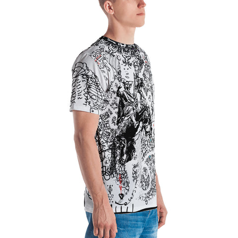 Horse Sleeve Romeo Jukebox - Full Bleed Shirt