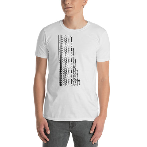 Image of All the Horses Minus Eight - Fashion Tee Shirt