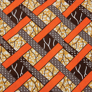 WOVEN PRINT - AFRICAN FABRIC