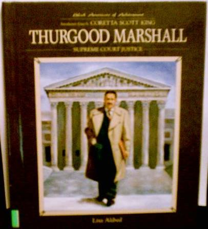 Thurgood Marshall (Black Americans of Achievement) by Lisa Aldred [Hardback]