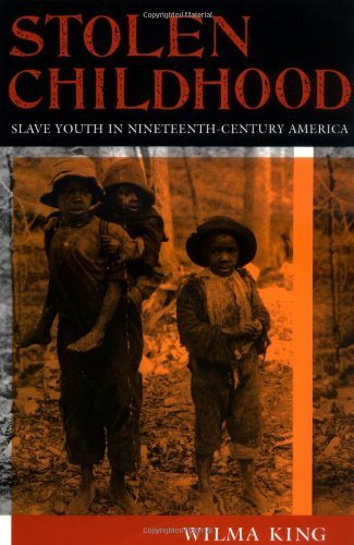 Stolen Childhood: Slave Youth in Nineteenth-Century America by Wilma King [Paperback]