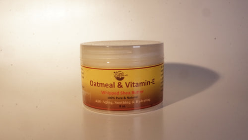 OATMEAL & VITAMIN-E WHIPPED SHEA BUTTER