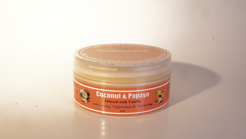 COCONUT & PAPAYA WHIPPED SHEA BUTTER