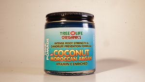 COCONUT MOROCCAN ARGAN HAIR POMADE