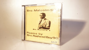 BROTHER MALCOM SAID AUDIO CD