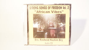 "STRONG SONGS OF FREEDOM VOLUME 2 ""AFRICAN VIBES"""