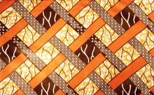 Load image into Gallery viewer, WOVEN PRINT - AFRICAN FABRIC