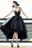 Chic Black Prom Dress High Low Prom Dresses Party Evening Dress  PDA433 | ballgownbridal