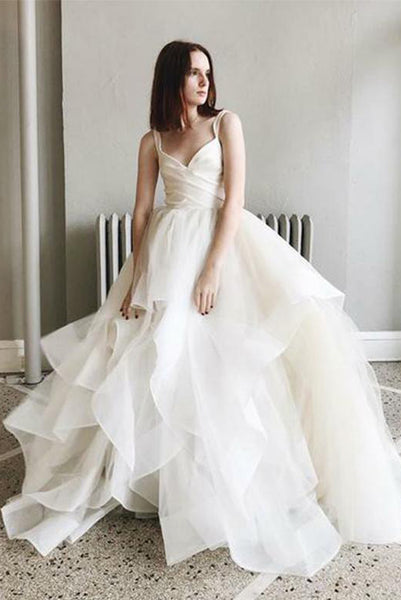 Sweetheart Wedding Dresses Ruffles Wedding Gowns PDA177 | ballgownbridal