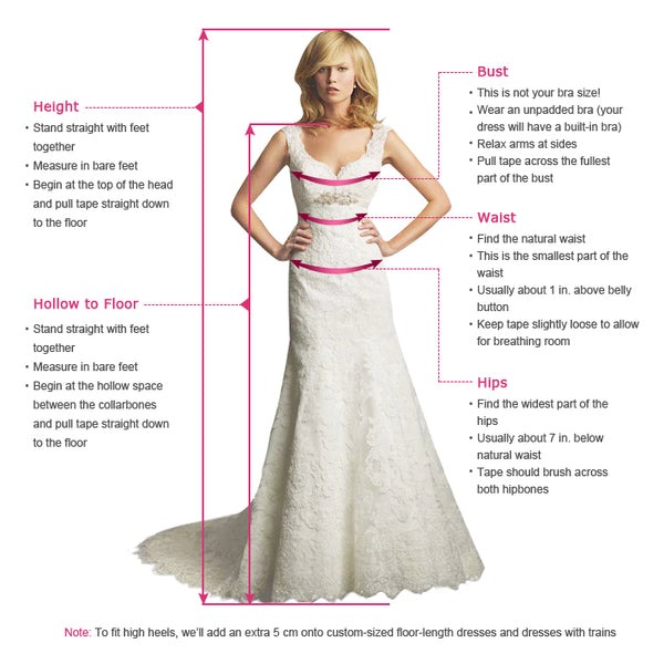 A Line Spaghetti Straps White Wedding Dresses with Backless Appliques PDA037