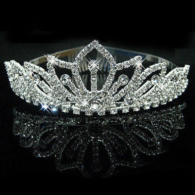 Beautiful Crystal Bling Tiara Assorted Styles Free Shipping