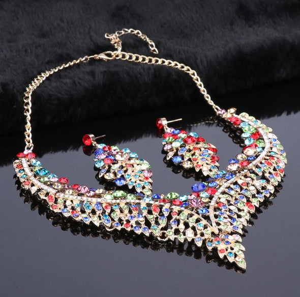 Womens Stunning Necklace Sets Assorted Colors Free Shipping
