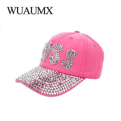 Womens Pink Bling Boss Hat Free Shipping
