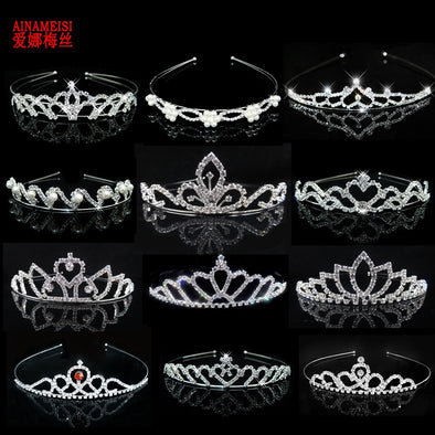 Crystal Bling Tiara Assorted Styles Free Shipping