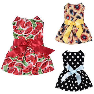 Fun in the Sun Doggie Summer Dresses Assorted Styles Free Shipping