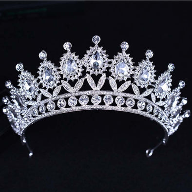 Stunning Bridal Bling Crystal Tiara Assorted Styles and Colors Free Shipping