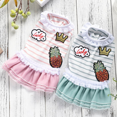 Summer Doggie Dresses Assorted Colors Free Shipping