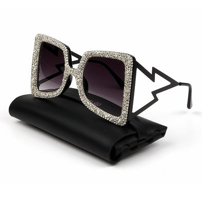 Womens Oversize Bling Bling Sunglasses Assorted Colors Free Shipping