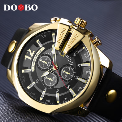 Mens Top Luxury Popular Quartz Watches Assorted Styles Free Shipping