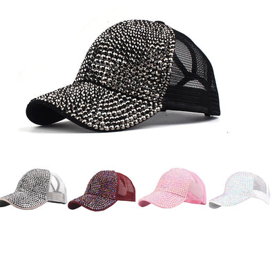Unisex Assorted Colors Bling Baseball Caps Free Shipping