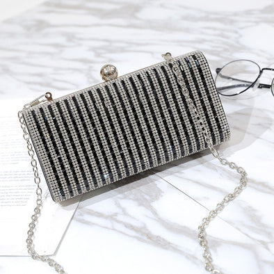 Womens Evening Bling Clutch Purses Assorted Colors Free Shipping