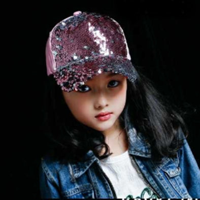 Kids Bling Baseball Hat Assorted Colors Free Shipping
