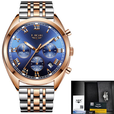 Mens Stylish Luxury Waterproof Watch Assorted Styles Free Shipping