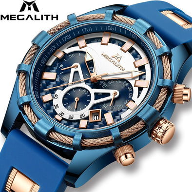 Mens Top Brand Luxury Display Watches Waterproof Assorted Styles Free Shipping