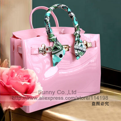 Womens Perfect Summer And Scarf Handbag Assorted Colors Free Shipping