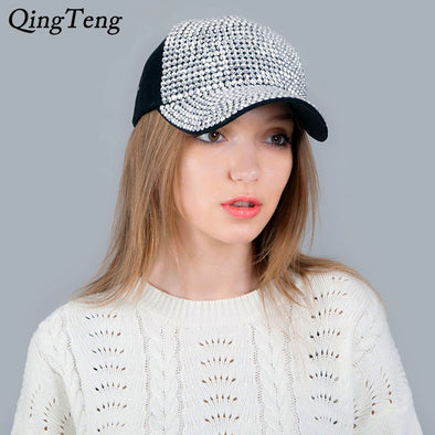 Womens Bling Baseball Hat Assorted 25 Styles Free Shipping